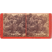 Stereoview Hotel at Geysers California