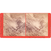 Stereoview Devils Canyon Geysers California