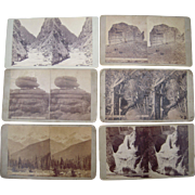 Lot 6 1870s Colorado Stereoviews by Weitfle #1