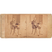 1860 Stereoview of Cuba #36 Governor of the Cabana