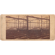 1860 Stereoview of Cuba #81 Sugar Warehouse