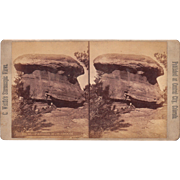 Colorado Stereoview of Photographer James Thurlow