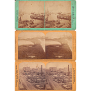 Lot 3 of 1871 Stereoviews of Chicago Fire