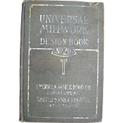 c1910 Arts and Crafts Architectural Millwork Advertising Catalog