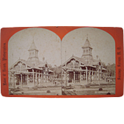 Lot of 6  1870s/1880s Saratoga Springs, NY Stereoviews