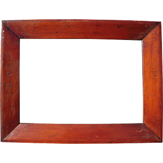 """c1850 Pine Ogee Picture Frame 10"""" x 14"""""""