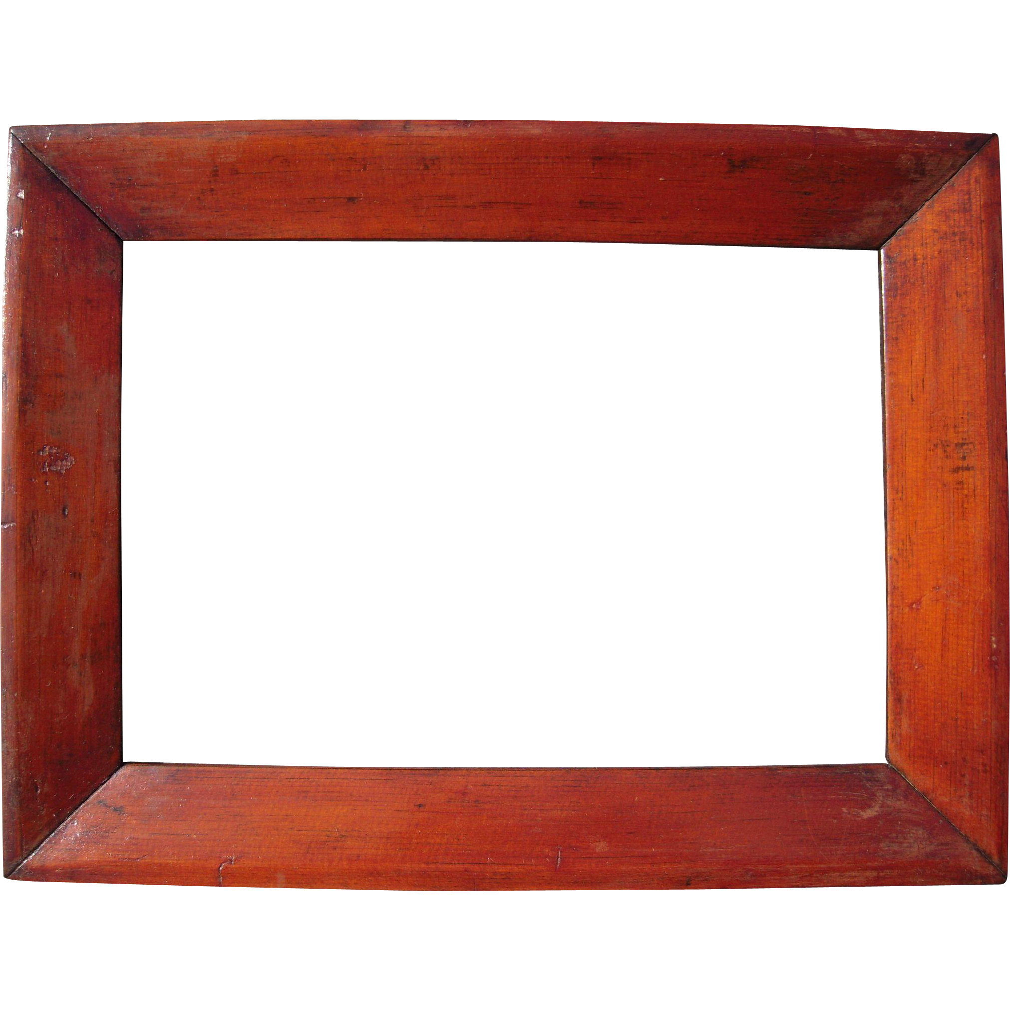 c1850 pine ogee picture frame 10 x 14 from bluesprucerugsandantiques on ruby lane. Black Bedroom Furniture Sets. Home Design Ideas