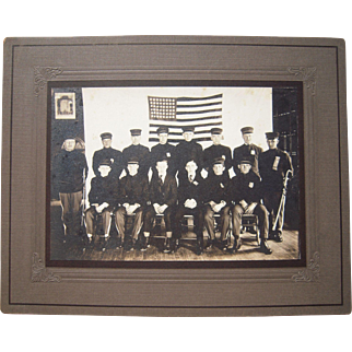 c1912 to 1920s Photo Sioux City IA Cadets or Fraternal Order