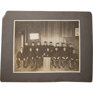 c1910 Photograph of AOUW Fraternal Order Band