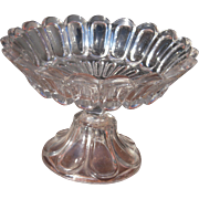 Large Mid 1800s Flint Glass Compote EAPG