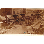 c1890s Photo of Circus Parade Franklin, PA