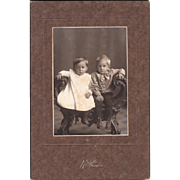 Lot 5 Mounted Photos of Children c1890s to 1910s