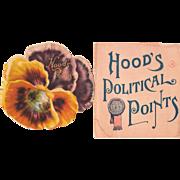 Hoods Pansy (Advertising Booklet for Hoods Sarsaparilla)