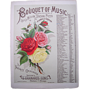 1884 Sheet Music Click Click Waltz