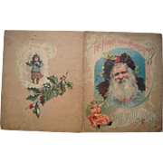 1896 The Night Before Christmas McLoughlin Children's Book