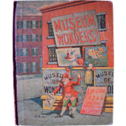 1884 Children's Book A Museum of Wonders by George Routledge and Sons
