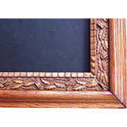 "Ornate Oak Victorian Picture Frame 8"" x 10"""