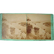c1870s Stereoview of Green River Wyoming Territory  (Savage's UPRR  Series)