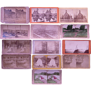 Lot 13 Midwestern US  Stereoviews