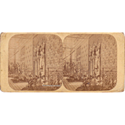 1853 London Crystal Palace Exposition Stereoview