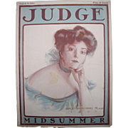 1902 Judge Magazine Cover by James Montgomery Flagg