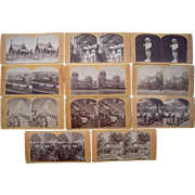 Lot 11 1876 Centennial Exposition Stereoviews