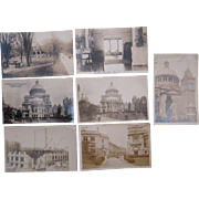 Lot 7 MA Real Photo Postcards (Boston and Northampton)