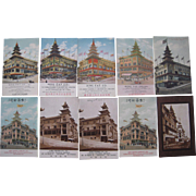Lot 10 Sing Fat/Sing Chong Postcards from Chinatown San Francisco, CA