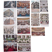 Lot 17 Postcards Marshall Field's Store Chicago, IL