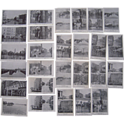 Lot 27 Postcards of 1936 Flood in Hartford, CT