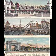 Lot 26 Coney Island Amusement Park Postcards
