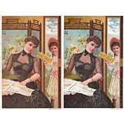 Hires Root Beer Advertising Victorian Trade Card (2 Available)