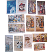Lot 11 Kitchen Related Advertising Trade Cards