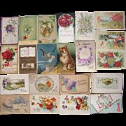 Lot 21 Birthday Postcards