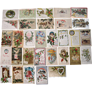 Lot 31 Christmas Postcards #1