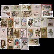 Lot 31 Christmas Postcards #1