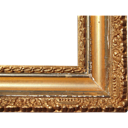 "Ornate Deep Gold Victorian Picture Frame 9 3/8"" x 12 1/2"""