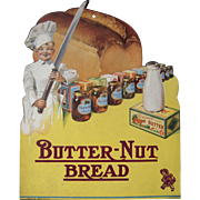 c1920s/1930s Butter-Nut Bread Advertising Sign #1