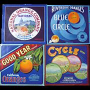 Lot 27 Vintage California Orange Crate Labels #2