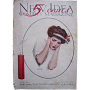 July 1909 New Idea Woman's Magazine w/Edward Poucher Illustrated Cover