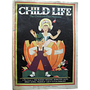October 1932 Child Life Magazine (Halloween Issue)