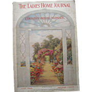 """Ladies Home Journal June 1909 """"Country House Number"""" - Red Tag Sale Item"""
