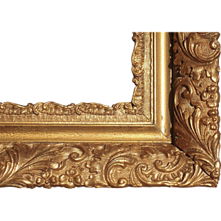 """Large Deep Ornate Gold Victorian Picture Frame 18"""" x 30"""""""