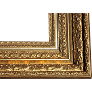 """Large Antique Ornate Victorian Gold Picture Frame 20"""" x 24"""" #1"""