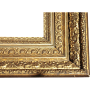 "Large Antique Ornate Victorian Gold Picture Frame 20"" x 24"" #2"