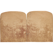 c1870s/1880s Stereoview of Georgetown, Colorado
