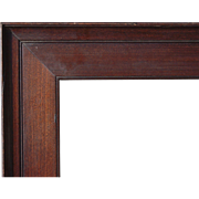 """Large c1910 Arts and Crafts Picture Frame 22"""" x 27"""""""