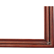 """Very Large Victorian Deep Walnut Picture Frame 22"""" x 37"""""""