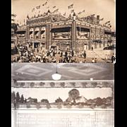 Pair Real Photo Postcards of Mitchell Corn Palace, Mitchell South Dakota