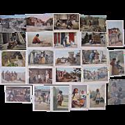 Lot 24 Postcards of c1900s/1910s Arizona Indians